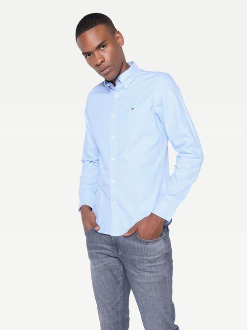 Camisa-de-vestir-con-diseño-liso-Tommy-Hilfiger