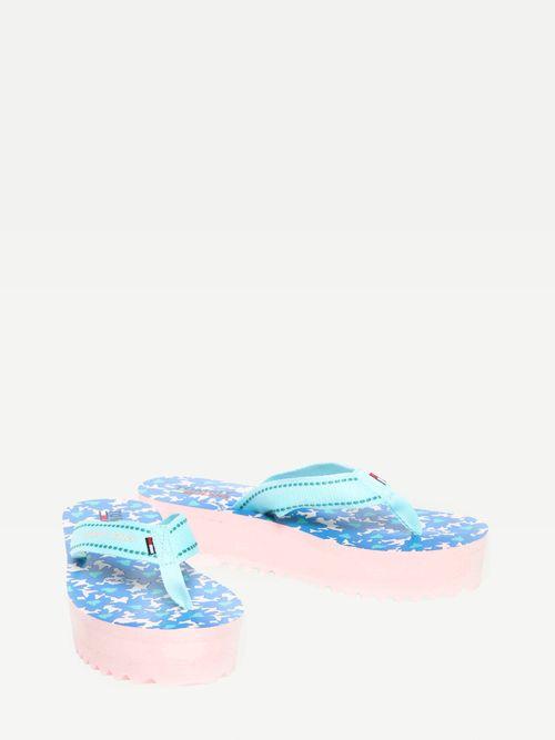 Sandalias-con-cuña-y-tiras-textiles-Tommy-Hilfiger