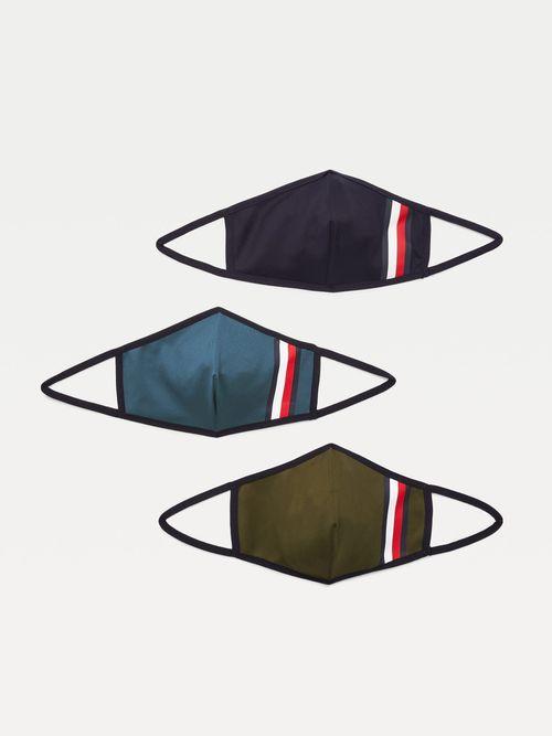 Pack-de-3-mascarillas-distintivas-Tommy-Hilfiger