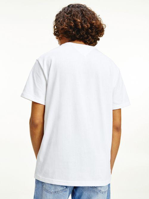 Camiseta-de-algodon-con-parche-de-Tommy-Tommy-Hilfiger
