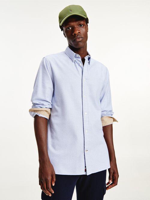 Camisa-de-corte-regular-en-algodon-mil-rayas-Tommy-Hilfiger