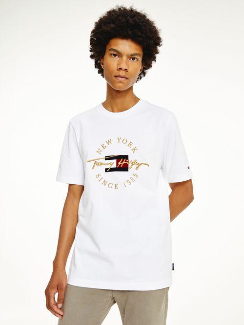Camiseta-Tommy-Icons-de-corte-amplio-con-logo-Tommy-Hilfiger