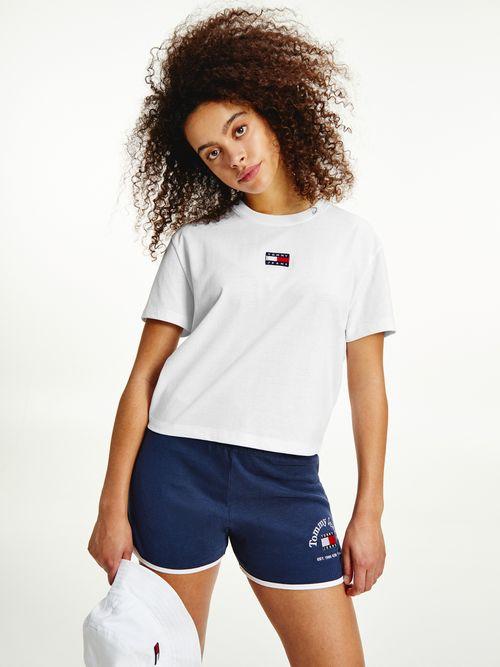 Camiseta-con-cuello-redondo-y-parche-de-Tommy-Tommy-Hilfiger