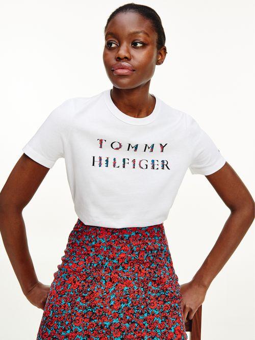 Camiseta-con-logo-de-flores-Tommy-Hilfiger