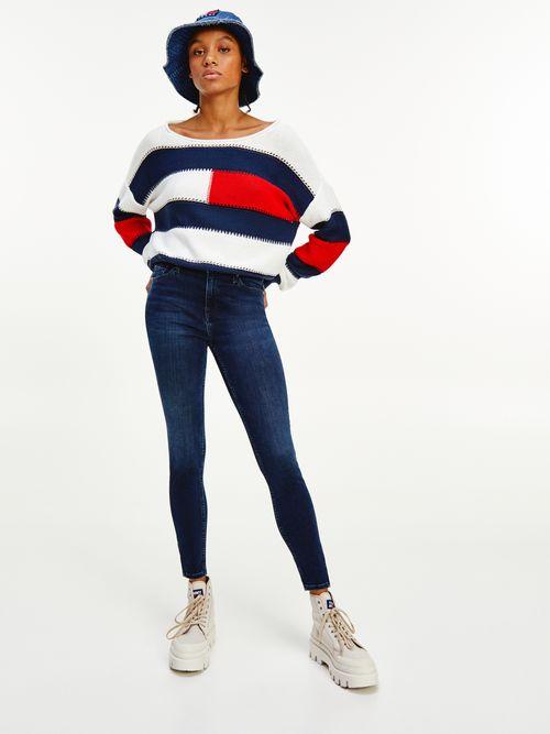 Jeans-Nora-ceñidos-de-talle-medio-con-cremalleras-Tommy-Hilfiger