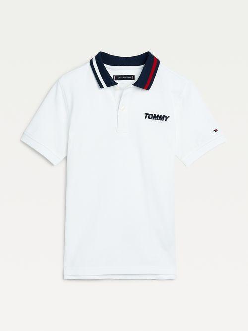 Polo-de-algodon-organico-para-niño-Tommy-Hilfiger