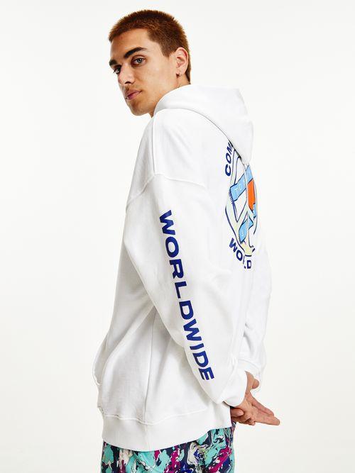 Sudadera-con-capucha-y-logo-Peace-Tommy-Hilfiger