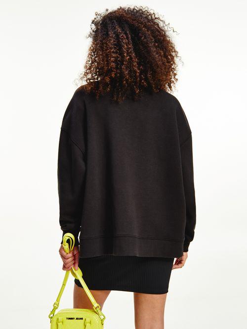 Sudadera-oversize-con-logo-floral-Tommy-Hilfiger