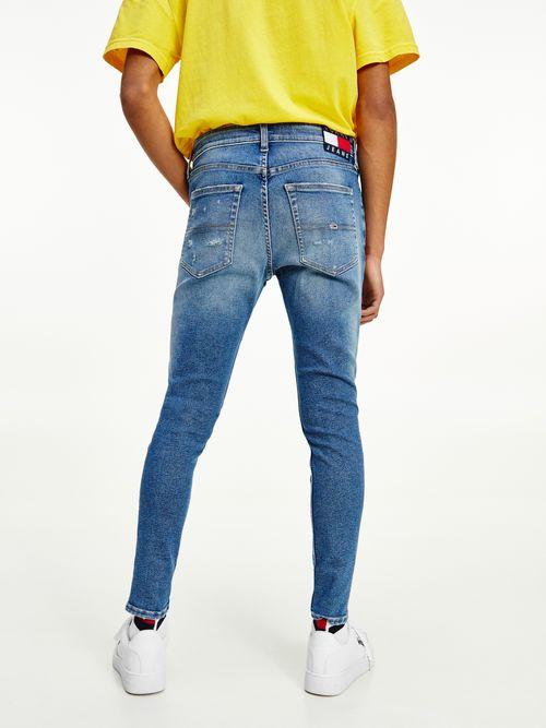 Jeans-Miles-ceñidos-con-efecto-desgastado-Tommy-Hilfiger