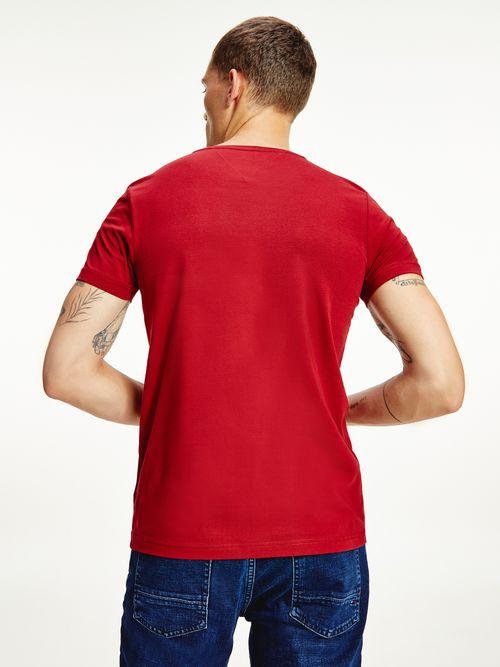 Camiseta-slim-de-algodon-organico-elastico-Tommy-Hilfiger