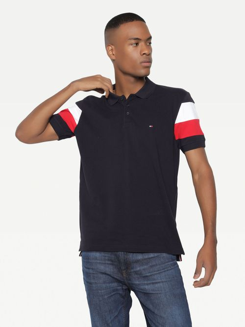 POLO-BLOQUES-MANGAS-Tommy-Hilfiger