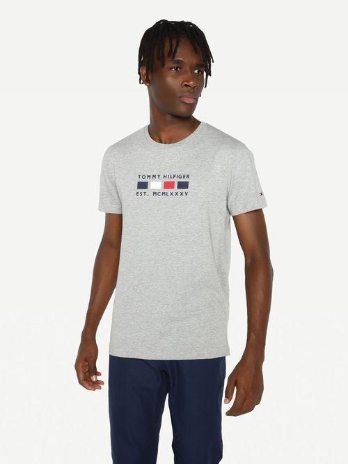 Camiseta-de-algodon-organico-con-logo-bordado-Tommy-Hilfiger