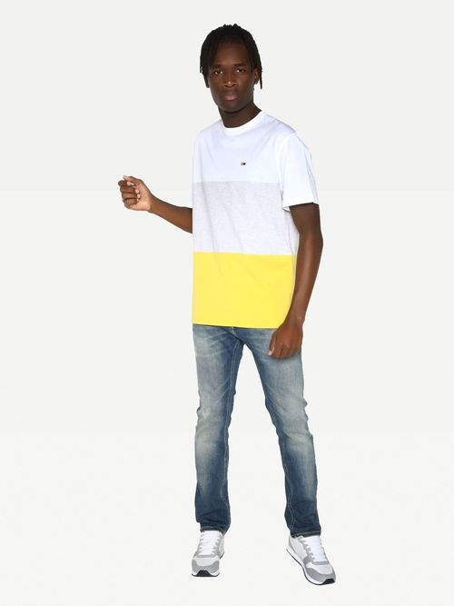 Camiseta-Classics-color-block-de-corte-amplio-Tommy-Hilfiger